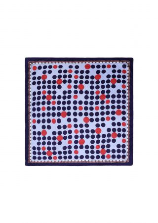 CARRE MULTI POIS  foulard Saint James