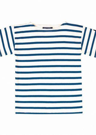 LEVANT E G tee-shirt rayé Saint James garçon