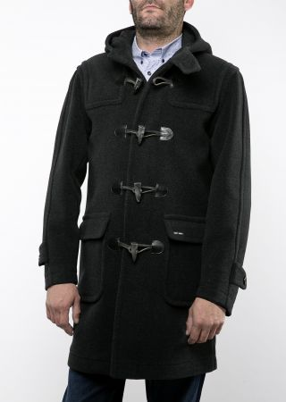 ANTARCTIQUE III duffle coat Saint James homme laine