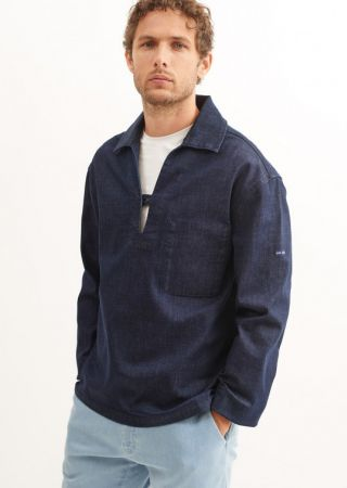 Vareuse TEDDY coton denim brut