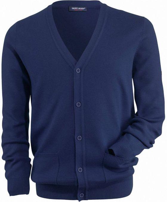 conception de la variété la clientèle d'abord outlet à vendre GUINGAMP Gilet en laine col V SAINT JAMES