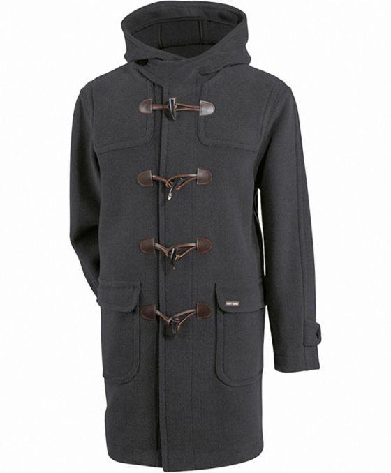 saturne ii duffle coat homme saint james laine chin. Black Bedroom Furniture Sets. Home Design Ideas
